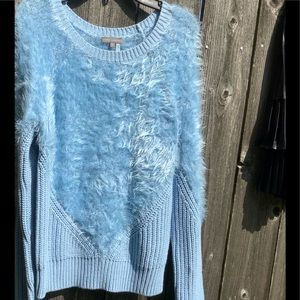 Vince camuto super soft fuzzy sweater